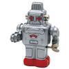 ゼンマイロボット(銀)